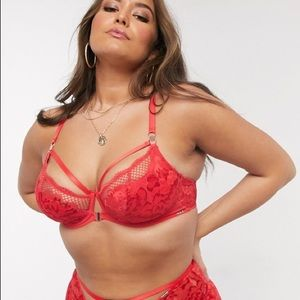 Figleaves Curve Amore front fastening lace bra